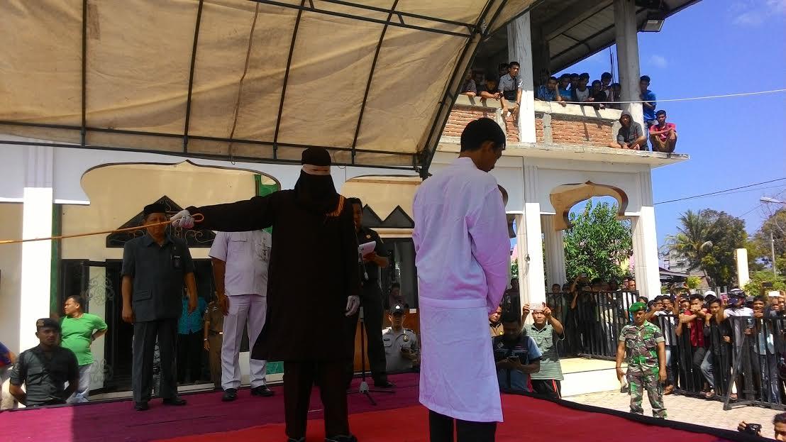 Pelanggar syariat islam di Aceh