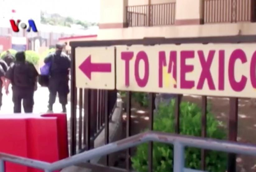 Dinding perbatasan Trump