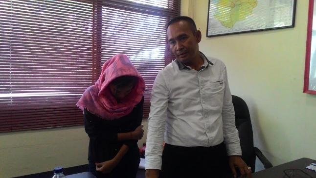 Gadis pengedar sabu asal Aceh Barat