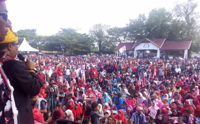 Kampanye Calon Bupati Aceh Barat, Ramli MS-Banta Puteh Syam
