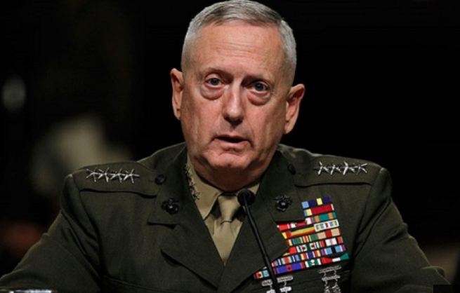 Menteri Pertahanan AS, James Mattis