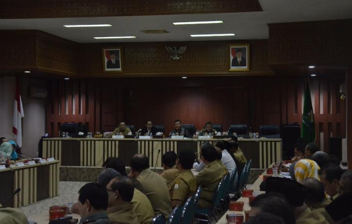 Pertemuan DPD RI dengan Forkopimda Aceh