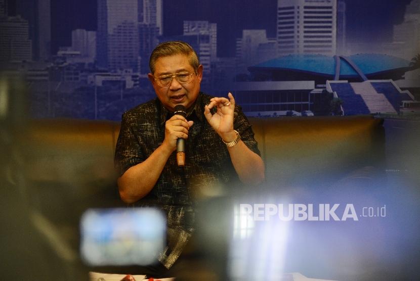 Mantan Presiden RI Susilo Bambang Yudhoyono