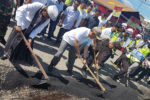 Bupati Mawardi Lepas Tim Tambal Jalan Polres Aceh Besar