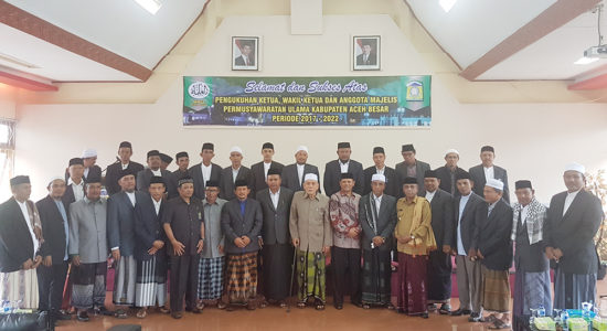 Tgk Muksalmina AW Pimpin MPU Aceh Besar