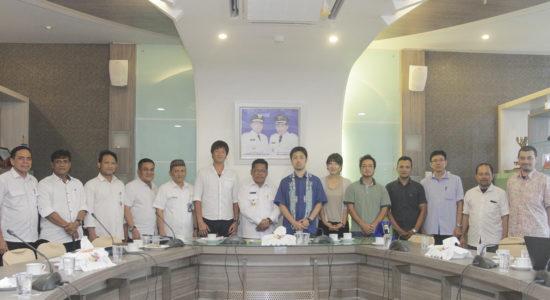 Aminullah Usman berharap kerjasama dengan Kota Higashimatsushima berlanjut