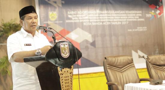 Wakil Walikota Zainal Arifin buka sosialisasi aplikasi DKMG