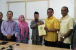 Penuhi Syarat Peserta Pemilu 2019, Golkar Kota Banda Aceh Serahkan Sipol ke KIP