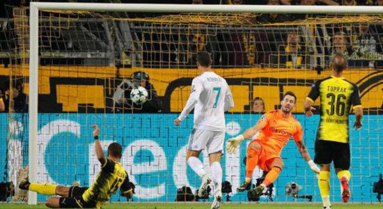 Ronaldo Cetak Gol ke-111 di Liga Champions