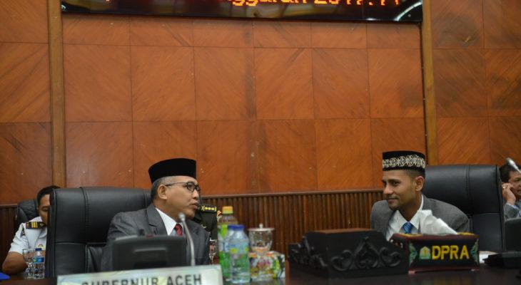 Wakil Gubernur Aceh Hadiri Penutupan Masa Persidangan IV DPRA