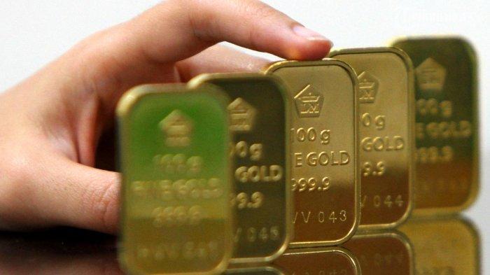 Hari Ini Harga Emas Naik Rp 2.022/Gram