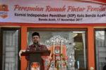 KIP Banda Aceh Resmikan Rumah Pintar Pemilu