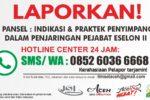 JSI Buka SMS Center Penjaringan Pejabat Eselon II