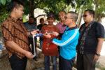 Direktur PDAM Tirta Daroy Serahkan Meteran Gratis kepada Masyarakat