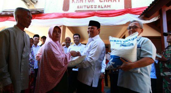 Bupati dan Wabup Aceh Besar Tinjau Embung Lambadeuk
