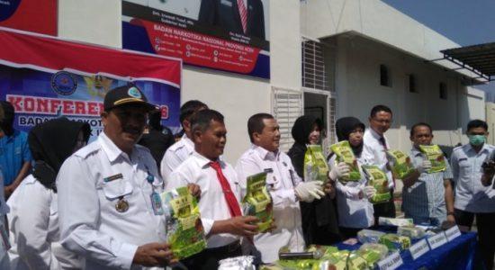BNN Aceh Sita 20 Kg Sabu, Ini 3 Tersangka