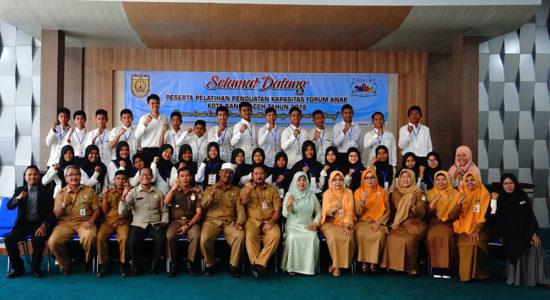 Gelar Pelatihan Penguatan Kapasitas Forum Anak