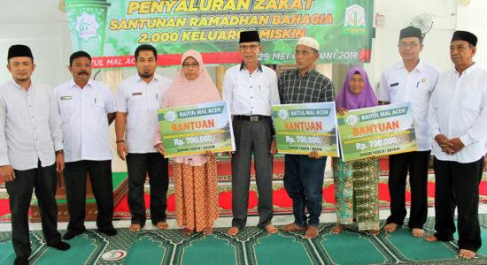 Berikan Bantuan Ramadhan kepada 2.000 Fakir Miskin