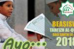 Buka Pendaftaran Beasiswa Tahfiz Quran