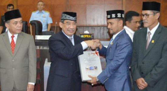 Aceh Raih Opini Atas LKPD Tahun 2017