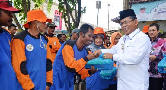 Sebut Pengabdian Pasukan Orange Tak Ternilai Harganya