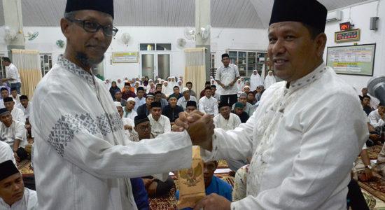 Tim Safari Ramadhan Pemko Sambangi Masjid Quba
