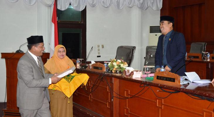 Wakil Wali Kota Sampaikan Pertanggungjawaban Pelaksanaan APBK Tahun 2017
