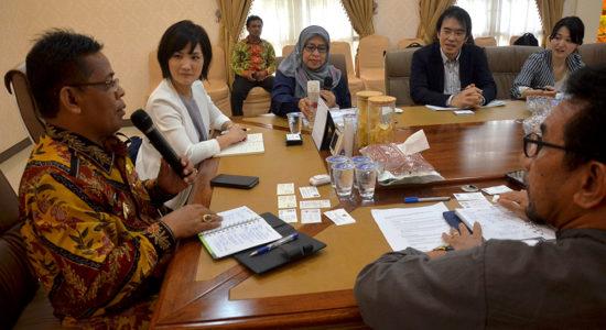 Banda Aceh Perkuat Kerja Sama Mitigasi Bencana dengan Jepang