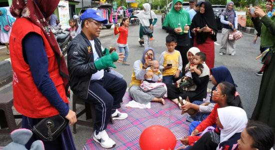 Di Car Free Day Aminullah Kampanye Pelestarian Harimau Sumatera