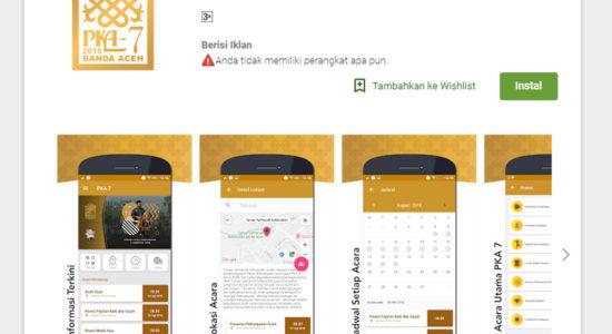 Aplikasi Android Untuk Sukseskan PKA-7