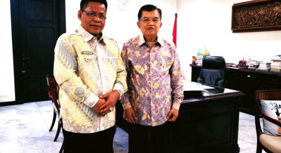 Aminullah Mohon Dukungan Pembangunan Kota