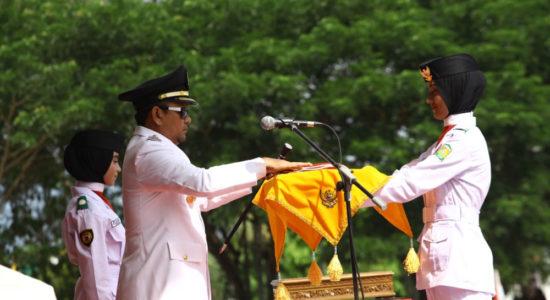 Peringatan HUT RI ke-73 di Aceh Besar Sukses dan Meriah