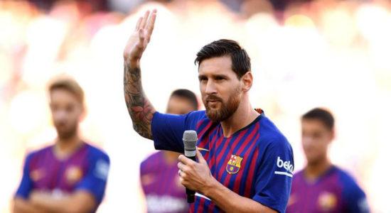 Meninggalkan Barcelona adalah Hal Rumit untuk Messi