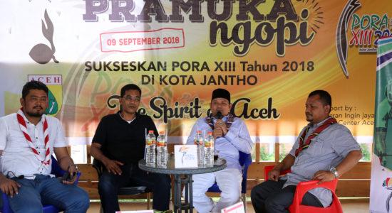 Pramuka Aceh Besar Sosialisasi PORA