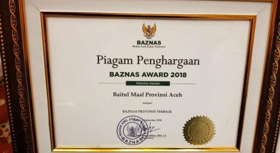 Raih Penghargaan Terbaik se-Indonesia