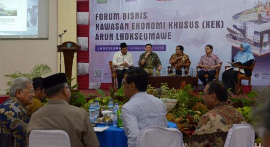 Buka Bisnis Forum KEK Arun