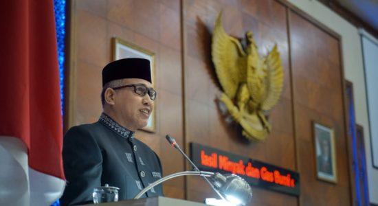 Hadiri Rapat Paripurna Penyampaian Pendapat Gubernur Aceh