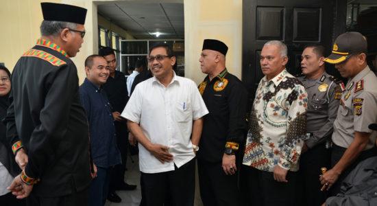 Tinjau Kantor Samsat Aceh Tengah