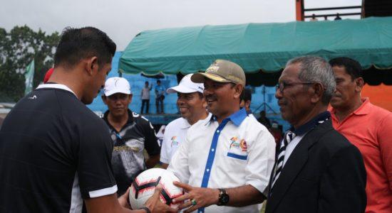 Membuka Cabor Sepakbola PORA XIII 2018