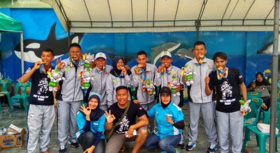 Atleh Aceh Tengah Memimpin Medali