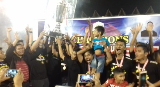 Langsa United FC Juara Liga Aceh!
