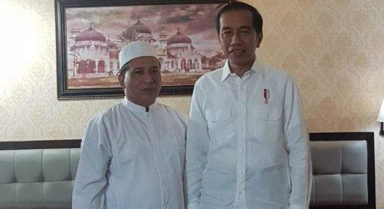 Bertemu Jokowi, Sekjen Partai Aceh Abu Razak Kembali Tegaskan Komitmennya pada Pilpres 2019