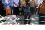 Masjid Nurul Hasanah Perpaduan Rumoh Aceh dan Tambo Lobo