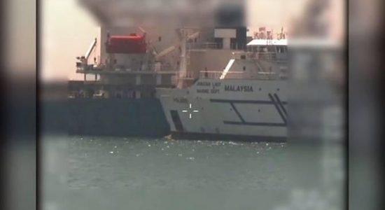 Usai Tabrakan Kapal di Perairan Sengketa