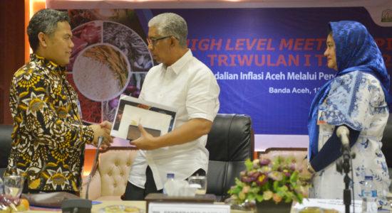 Minta TPID Se-Aceh Siaga Terhadap Potensi Gangguan Inflasi