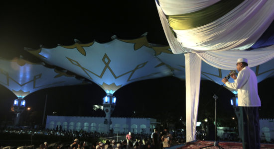 Isi Ceramah Isra Miraj di Masjid Baiturrahman