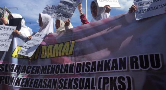 Muslimah Aceh Tolak RUU P-KS