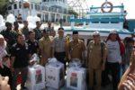 Tinjau Distribusi Logistik Pemilu di Pulo Aceh