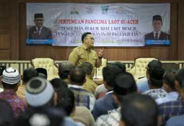 Penguatan Lembaga Panglima Laot Ujung Tombak Kelautan Aceh