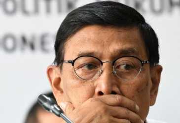 Wiranto Perpisahan dengan PNS Polhukam